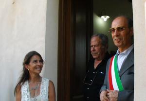 E' stata inaugurata il 25 luglio, a Portoscuso, la mostra di pittura dell'artista italo-argentina Diana Mercado.