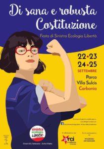 Il parco di Villa Sulcis ospiterà da domani a domenica, a Carbonia, la Festa annuale di Sinistra Ecologia Libertà.