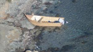 Sulle coste del Sulcis continuano senza sosta gli arrivi di migranti nordafricani, a bordo di piccole imbarcazioni.