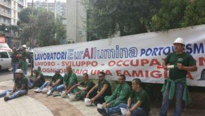 Luca Pizzuto (Art. 1 – Sdp): «Pieno sostegno ai lavoratori dell'Eurallumina, perché si arrivi al più presto alla ripresa produttiva».