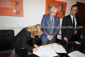 La firma di Clorinda Forte.