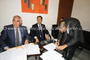 La firma di Gianfranco Montis.