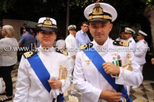 Si è svolta questa mattina la cerimonia del passaggio di consegne al comando dell'Ufficio circondariale marittimo di Sant'Antioco.