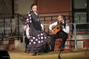 Dopo l'apprezzato spettacolo di ieri sera a Sant'Antioco, la ballerina spagnola Yolanda Osuna concederà il bis questa sera al Lazzaretto di Cagliari.