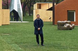 """Un giovane architetto di Carbonia, Marco Diana, ha curato a Milano il progetto """"Arch&Art""""."""