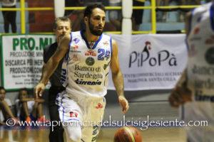 Amara sconfitta interna per la Dinamo Banco di Sardegna nell'anticipo di mezzogiorno con la Sidigas Avellino 70 a 75 (p.t 41 a 35).
