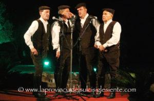 """I Tenores di Bitti sono stati protagonisti, ieri sera a Palmas, di una straordinaria anteprima del festival """"Ai Confini tra Sardegna e jazz""""."""