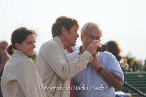 """Sono iniziate, nel Sulcis, le riprese della fiction """"Dott. Pietro"""", con Gianni Morandi, Chiara Baschetti e Michele Rosiello."""