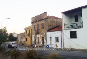 Non è stata ancora superata l'emergenza della viabilità all'ingresso di Carbonia, nella frazione di Serbariu.