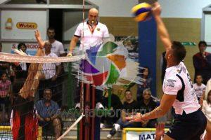 Grande esordio casalingo per la VBA/Olimpia Sant'Antioco nella B1 di volley maschile 2016/2017, 3 a 0 al Granaio Concorezzo.