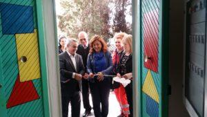 E' stato inaugurato stamane il Centro sperimentale di attività sociali dell'Auser Carbonia e Sa.Sol. Point n. 9 Carbonia.