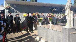 A Villarios è stato ricordato il tenente dei carabinieri Marco Pittoni, morto 8 anni fa in un conflitto a fuoco a Pagani.