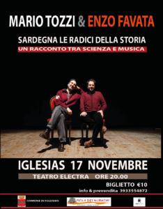 """Giovedì 17 novembre, alle ore 20,00, al teatro Electra di Iglesias, andrà in scena lo spettacolo """"Il Mediterraneo e la Sardegna, le origini di un mito""""."""