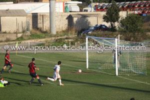 Il secondo goal di Giuseppe Corona nel derby Carbonia - Monteponi del 20 novembre 2016.