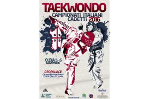 Sono in programma il prossimo fine settimana, a Olbia, i Campionati Italiani di Taekwondo Cadetti 2016.