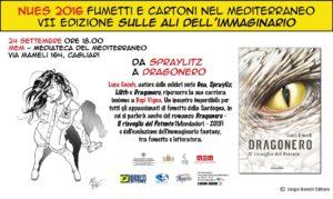 Doppio appuntamento giovedì e venerdì, a Cagliari, per Nues, il festival internazionale dei Fumetti e dei Cartoni nel Mediterraneo.