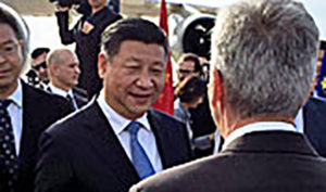 Si è conclusa stamane la visita in Sardegna del presidente della Repubblica Popolare Cinese Xi Jinping.