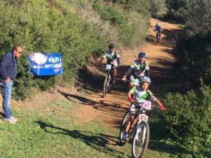 Emiliano Murtas ha vinto a Monte Arcosu il II Trofeo città di Uta di mountain bike.