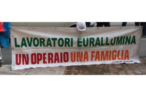 Si è svolta stamane, nella sala riunioni dello stabilimento di Portovesme, l'assemblea generale dei lavoratori Eurallumina.