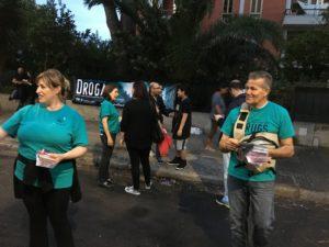 Il 2016 si conclude con un bilancio positivo per i volontari di Fondazione per un mondo libero dalla droga.