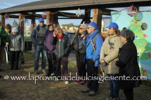 Circa 150 persone hanno partecipato stamane all'escursione da Cannas di Sotto a Monte Sirai.