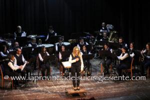 L'album fotografico del concerto della banda musicale Vincenzo Bellini al Teatro Centrale di Carbonia.