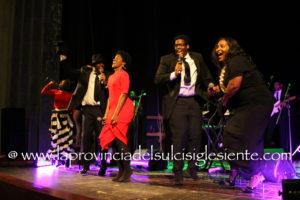 Grande entusiasmo ieri sera, al Teatro Centrale di Carbonia, per la prima serata della rassegna Gospel Explosion 2016.