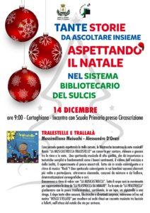 Tante storie da ascoltare insieme, Aspettando il Natale, nel Sistema Bibliotecario Interurbano del Sulcis.