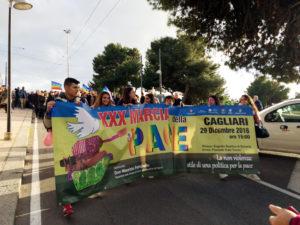 In migliaia a Cagliari per la XXX Marcia della Pace.