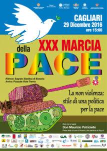È stato presentato questa mattina il programma della XXX Marcia della Pace che si svolgerà per la prima volta a Cagliari il prossimo 29 dicembre.