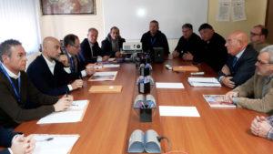"""Questa mattina la commissione """"Attività produttive"""" del Consiglio regionale ha visitato la Portovesme srl."""