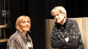 Giuseppe Pambieri, Cochi Ponzoni, Paola Quattrini ed Erika Blanc al Centrale di Carbonia con Quartet