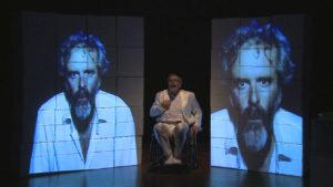 """Da domani a sabato, al Teatro delle Saline di Cagliari, l'Akròama presenta """"Pirandello Ora Pro Nobis""""."""