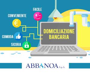 ABBANOA S.p.A. – Domiciliazione bancaria.
