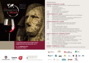"""Verrà presentato domani, ad Alghero, il concorso enologico internazionale """"Grenaches du monde""""."""