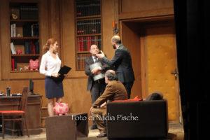 """Straordinario successo, domenica 19 febbraio, al Teatro Centrale di Carbonia, della commedia """"Ieri è un altro giorno!""""."""