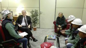 La RSU Eurallumina stamane ha incontrato il ministro della Coesione territoriale Claudio De Vincenti.