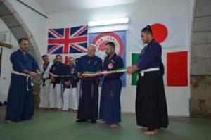Weekend di ju jitsu a Carbonia e Nuxis, alla presenza del massimo grado al mondo di ju jitsu, il soke Maurizio Silvestri.
