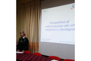 """Tatiana Kirova ha tenuto a Iglesias una conferenza su """"Le prospettive di valorizzazione dei siti minerari in Sardegna""""."""