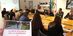 E' stato presentato stamane il progetto della rete ciclabile della Sardegna, per il quale sono stati stanziati 15 milioni di euro.