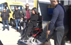 L'assessore Claudia Firino ha consegnato altri 7 scuolabus ad alcuni Comuni e Unioni di Comuni.