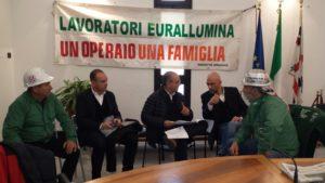 Vertice stamane al ministero dello Sviluppo economico per affrontare i problemi legati agli sviluppi della vertenza Eurallumina.