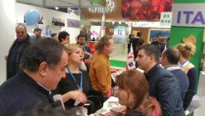 Il cibo sardo anche oggi protagonista al Prodexpo di Mosca.