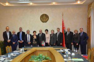"""Grande successo, a Minsk, delle """"Giornate della Scienza e dell'Istruzione Universitaria della Sardegna nella Repubblica Belarus""""."""