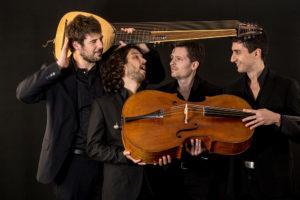 """Domenica, ad Alghero, anteprima del festival di musica antica """"Echi lontani""""."""