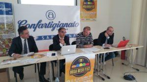 E' stato presentato questa mattina, a Cagliari, il Bosa Beer Fest 2017.