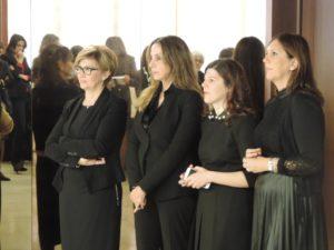 La giornata delle donna in Consiglio regionale è stata celebrata con un breve incontro tra le quattro consigliere regionali e il personale del Palazzo.