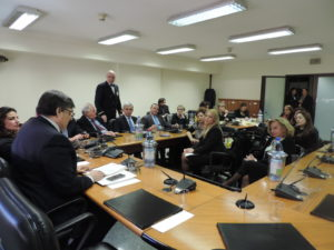 La conferenza dei capigruppo del Consiglio regionale ha incontrato la commissione regionale per le pari opportunità.