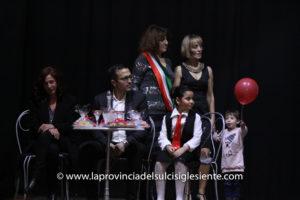 """Il Teatro Centrale di Carbonia ha ospitato questa sera la seconda edizione dello spettacolo """"Non solo 8 marzo""""."""