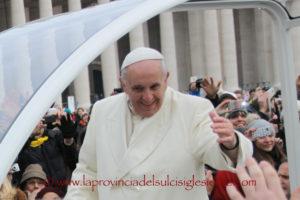Partiranno stasera dal porto di Olbia i600 volontari sardiche domani,venerdì 30 novembre, saranno accolti in Vaticano daPapa Francesco.